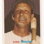 Homemade 1957 Topps Stan Musial